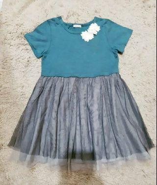 Import Dress Anak Tutu 4-6years