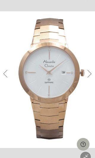 Jam tangan woman alexandre christie new