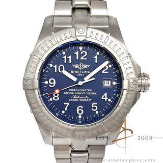 Breitling Avenger Seawolf E17370 Blue Dial Titanium