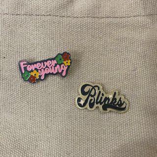 Blackpink limited enamel pins!