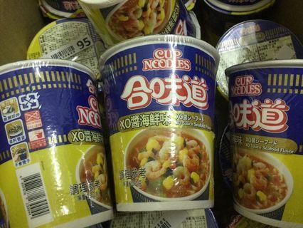 日本日清 合味道海鮮味 杯麵 日本泡麵 XO醬海鮮味