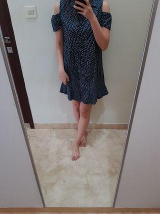 Polkadot dress by mango