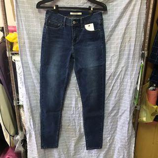 Levi's 710 緊身牛仔褲 全新 27腰