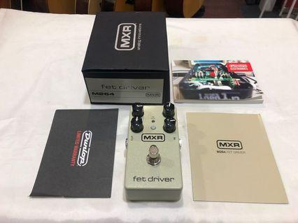 MXR M264 FET Driver Overdrive Guitar Effects Pedal