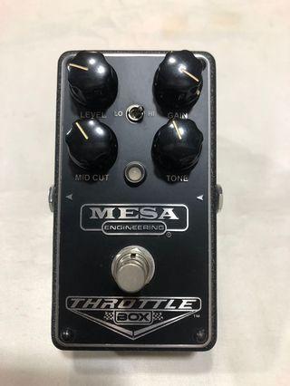 Mesa/Boogie Throttle Box Distortion Pedal