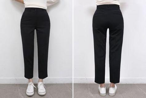 韓國直筒西裝褲