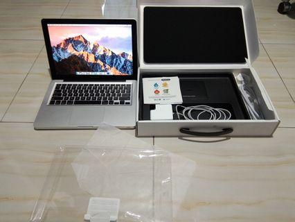 "MD101 Macbook Pro 13"" 2012 Fullset Mulus"