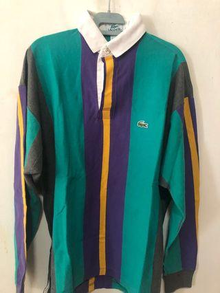 Vintage Lacoste Rugby Polo
