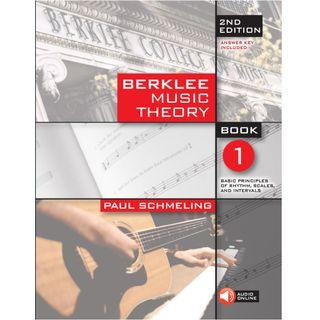 BERKLEE MUSIC THEORY BOOK 1 (WITH AUDIO ONLINE)