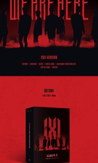 [SHARING PC] 2019 MONSTA X WORLD TOUR WE ARE HERE IN SEOUL DVD KIT VIDEO KIHNO