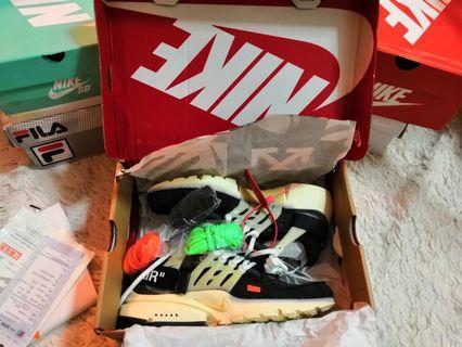 Nike Presto x Off White