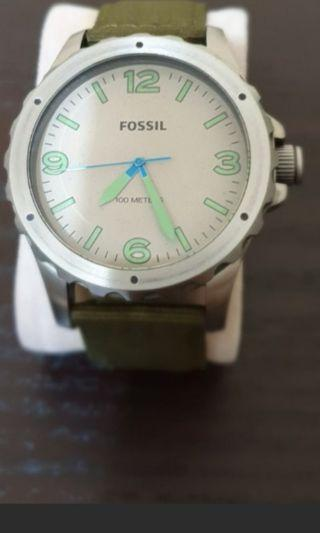 Fossil nate leather jr1461