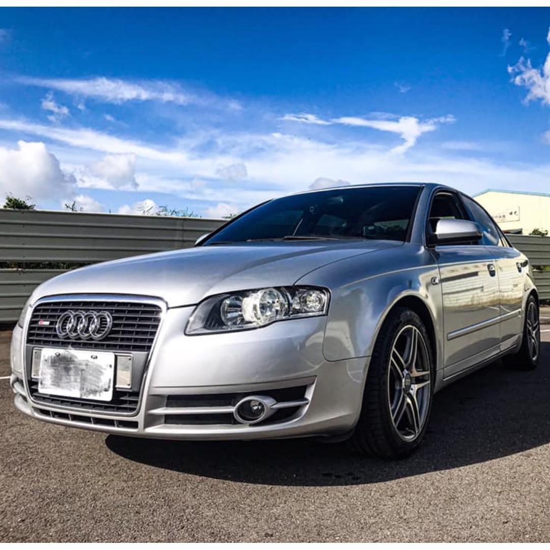 2007年Audi A4 1.8 銀色 桃園