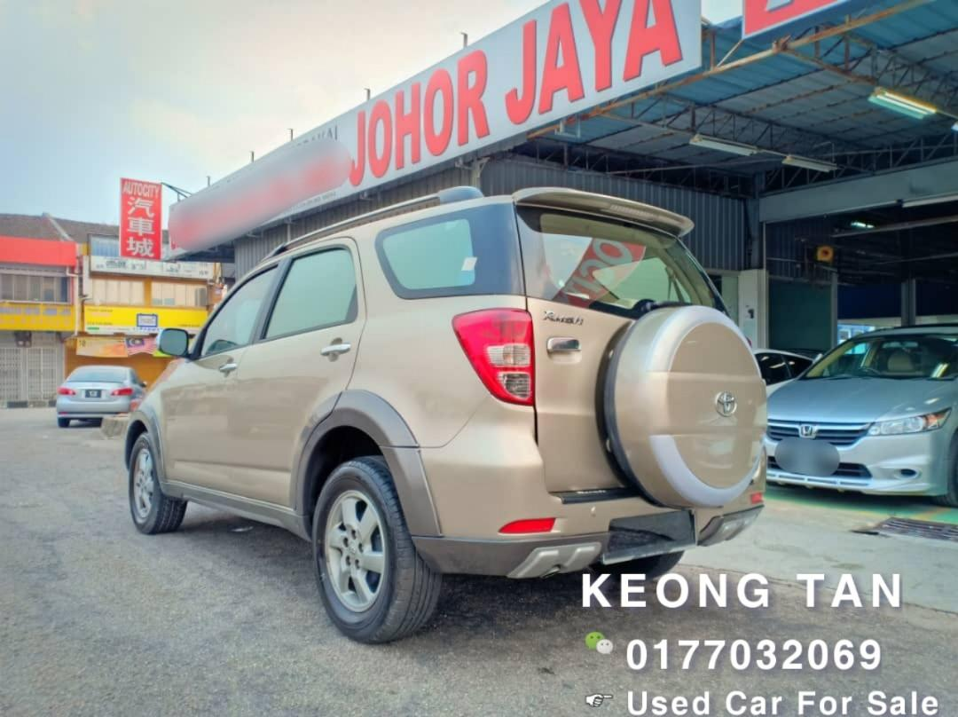 2008Th🚘TOYOTA RUSH 1.5AT S SPEC 7 SEATER COMFORT SUV CAR🚘 Cash🎉OfferPrice💲Rm24,800‼LowestPrice InJB🎉📲 Keong‼🤗