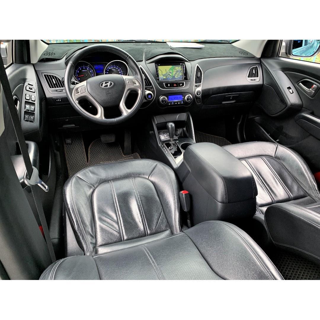 2010 TUCSON-ix35稀有頂規全景天窗 頭款3500可交車 FB搜尋: 阿億嚴選 好車至上 非HRV、U6、CHR、山土匪、Outlander