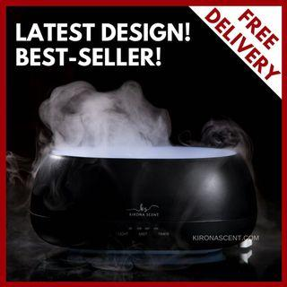 Aroma Humidifier. FREE 30ml Essential Oil.