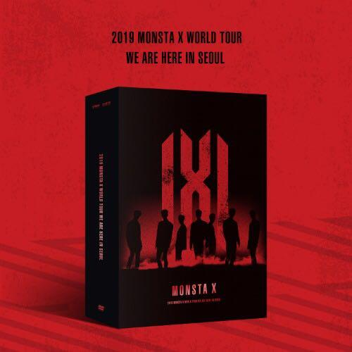 2019 MONSTA X WORLD TOUR [WE ARE HERE] IN SEOUL DVD