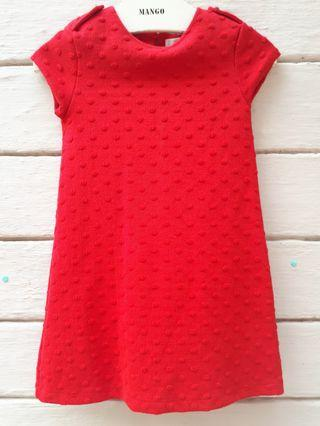 Zara Kids Red Dress