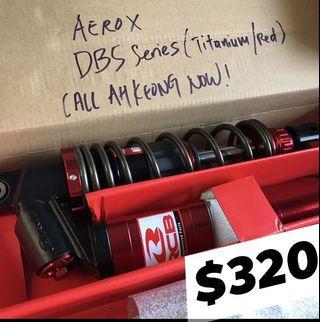 Racing Boy DB5 Absorber for Aerox NVX155