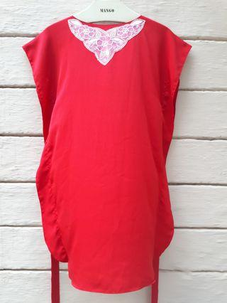 Red Kaftan for Kids