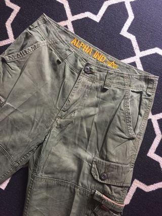 Long Pants Cargo Alpha Industries (Celana Panjang PDL Army)