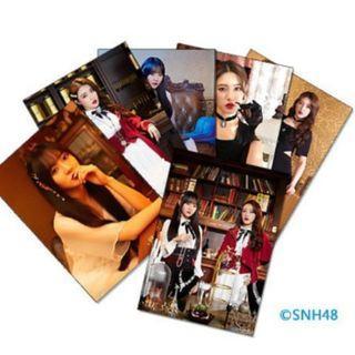 代購~SNH48《就差一點點》主題生寫  莫寒1SET4張-不挑
