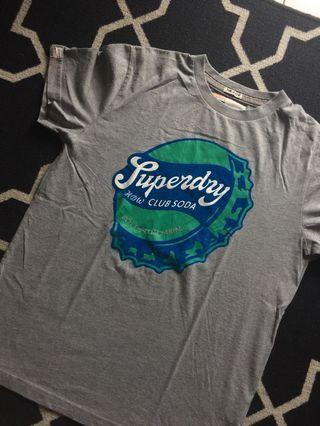 T-Shirt Superdry Original (Kaos Baju Tshirt Polos)