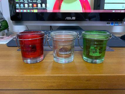 Yankee Candle translucent candle holders