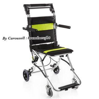Ultra lightweight wheelchair travel foldable wheelchair premium aluminum