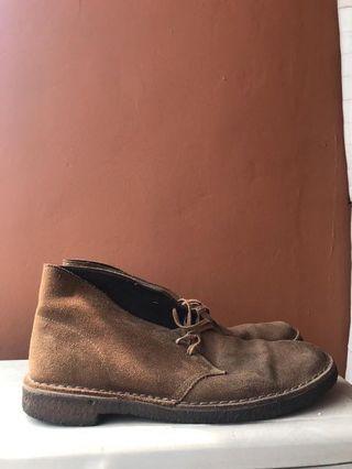 Clarks Desert Boot Cola Suede Original Murah