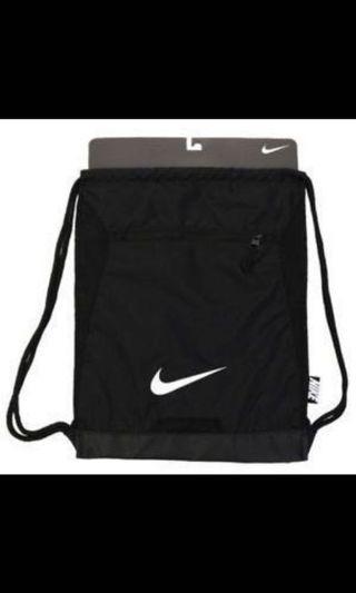 Nike Black Drawstring Bag