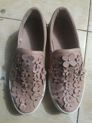 Sepatu Slip On (payless) - nude pink