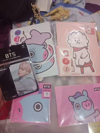 wts bt21&jimin t money