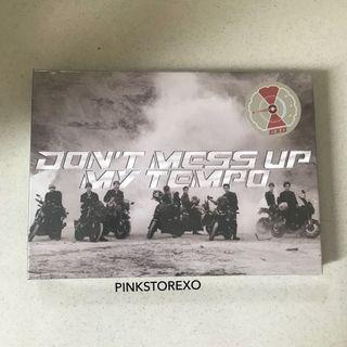 [FIRST PRESS] Album EXO - Don't Mess Up My Tempo + Poster