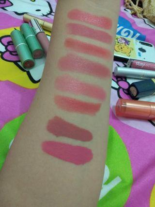 Lipstik wardah,ines,latulip,wardah