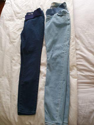 (2 Pcs) ASOS Maternity Jeans
