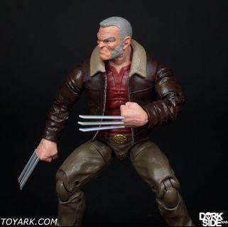 Marvel Legends BAF Warlock old man logan aka wolverine