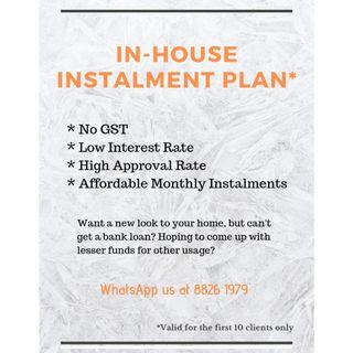 🔴Reno Instalment! (In-House Instalment Plan!) Get Your Kitchen / Bathroom / Bedroom Package Now!