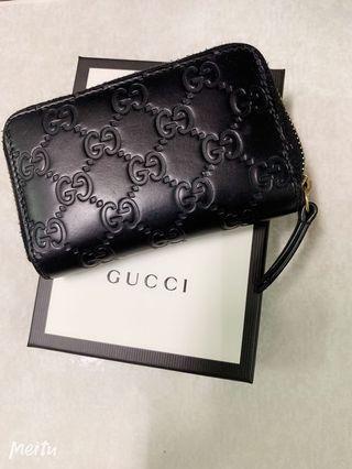 Gucci 短夾 零錢包
