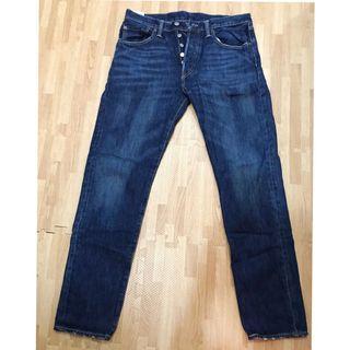 (二手極新)男款Levi's  501CT 經典排扣錐形牛仔褲