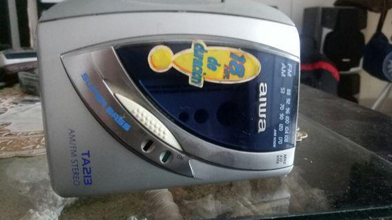 Walkman Aiwa Mega bass