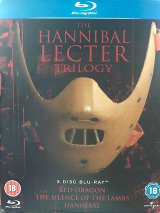 (藍光) Hannibal Lecter Trilogy Blu-Ray 人魔 三部曲 [中文字幕]