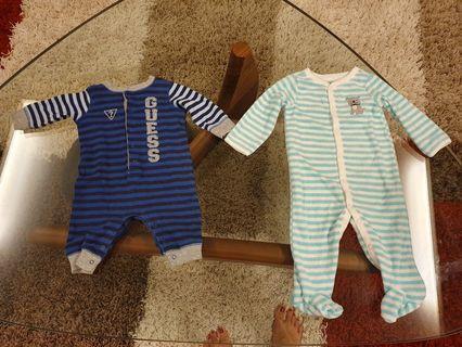 2 pieces long sleeve pajamas