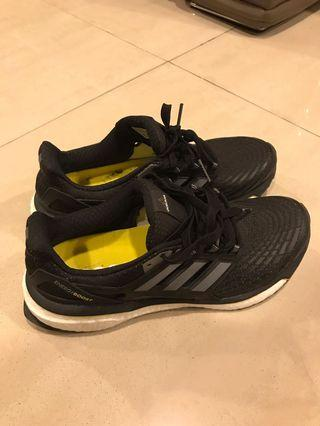 Adidas Running Shoes Energy Boost M Black/Yellow