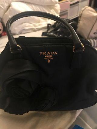 Authentic Prada Bag (used once)