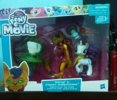 Original My Little Pony The Movie - Rarity & Capper Dapperpawn - Styling Friends