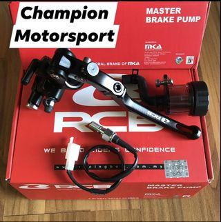 Racing Boy Forged Master Brake Pump for Aerox and Y15ZR Sniper