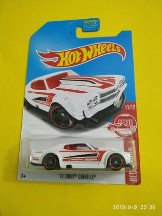 Hot Wheels Chevy Chevelle Red Edition Target Exclusive
