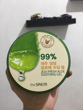 The saem aloevera soothing gel
