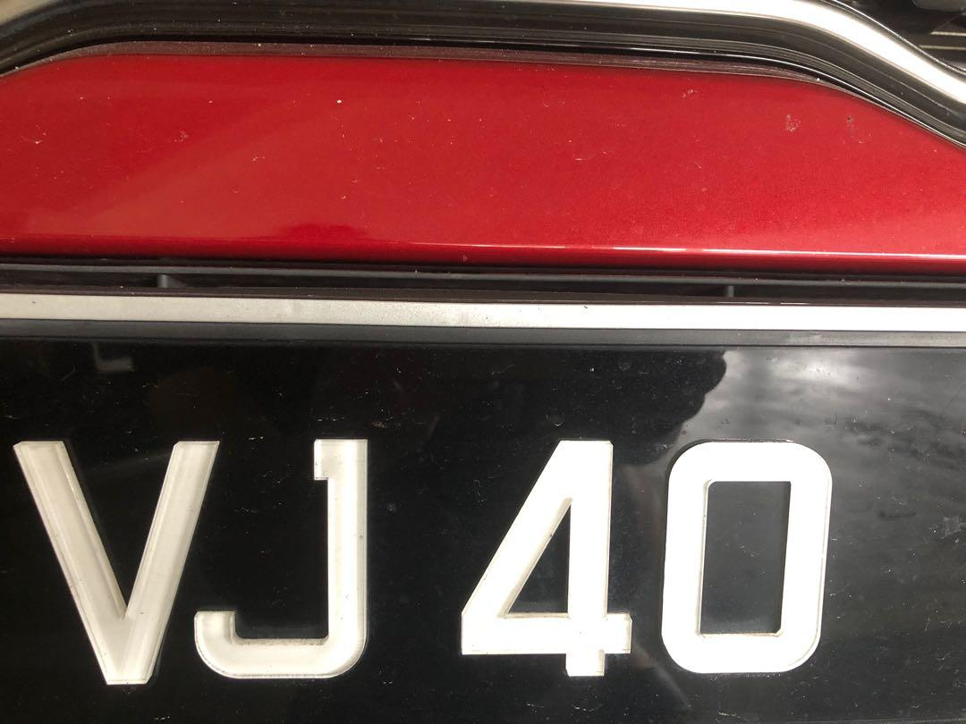 2 digits Plate number